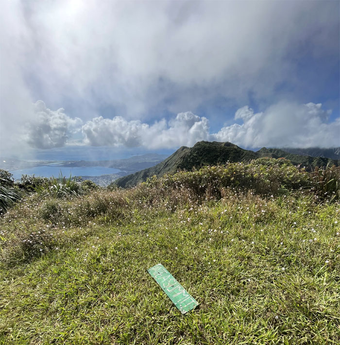 Hiking Aiea to Red Hill (Basketball Courts)