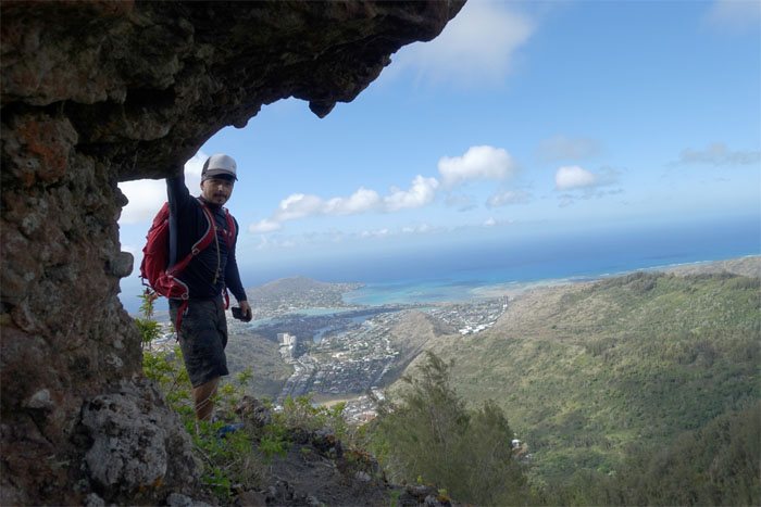 Hiking New Mariners Ridge to Hahione Windward