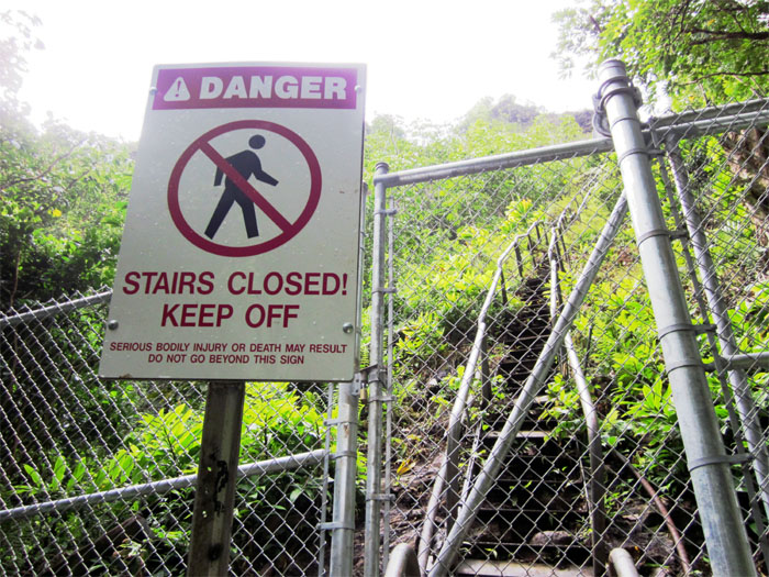 Hiking Haiku Stairs or Stairway to Heaven