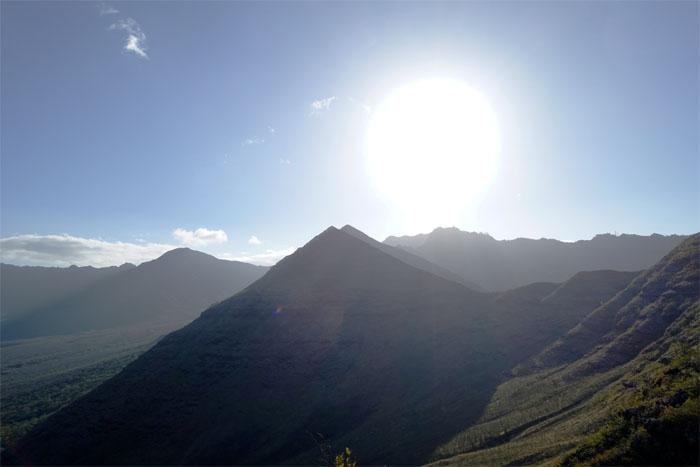 Hiking Heleakala to Palehua