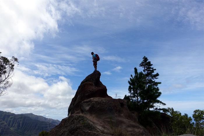 Hiking Kaena Point to Mount Ka'ala