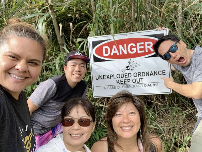 Hiking Kuaokala Trail