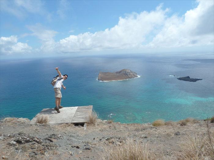 Hiking Kamiloiki Ridge to Makapu'u