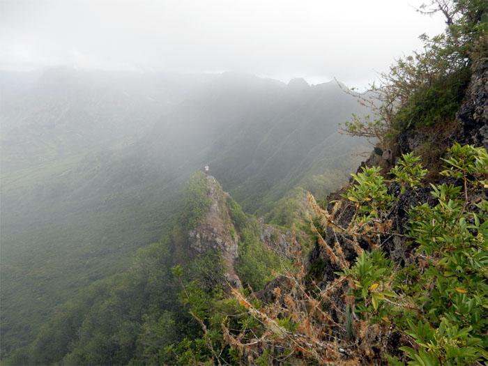 Hiking Pu'u Kaua to Kolekole Pass