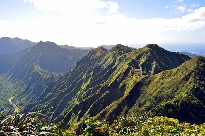Hiking Kahuauli (Bowman) to Kalihi Saddle