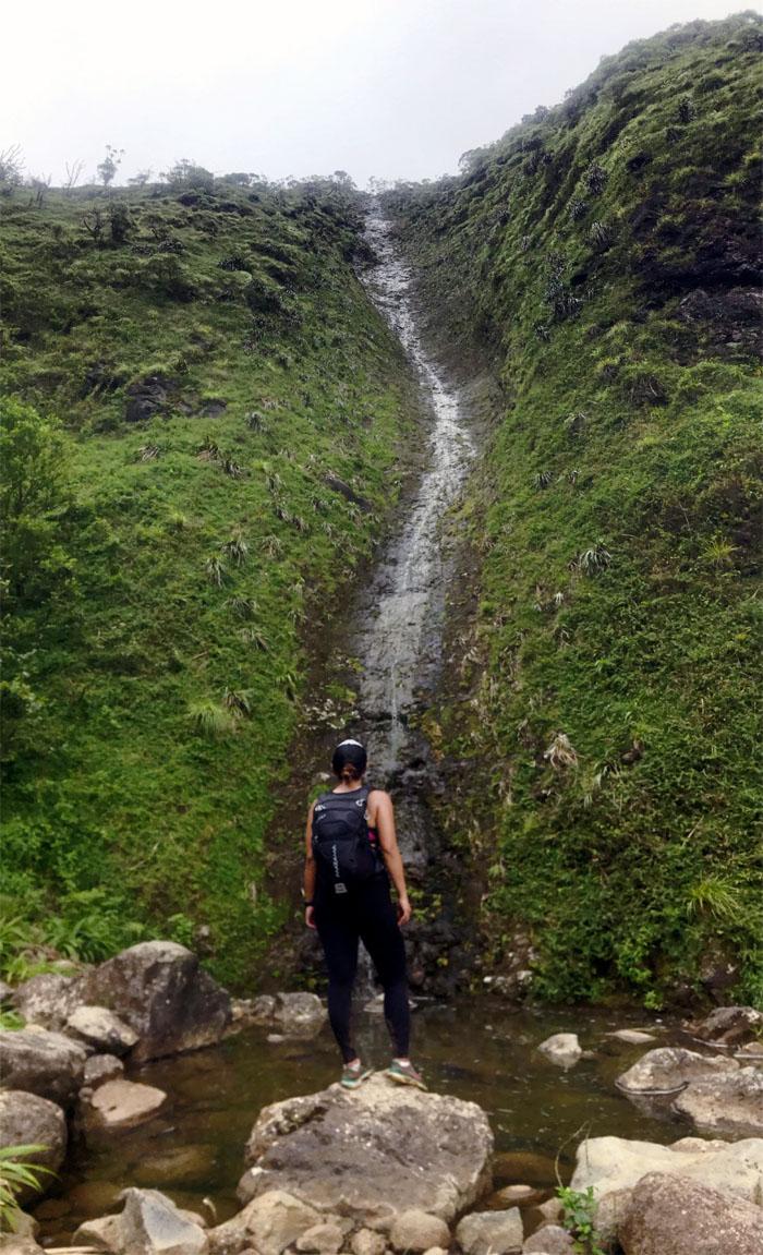 Hiking Moanalua Falls