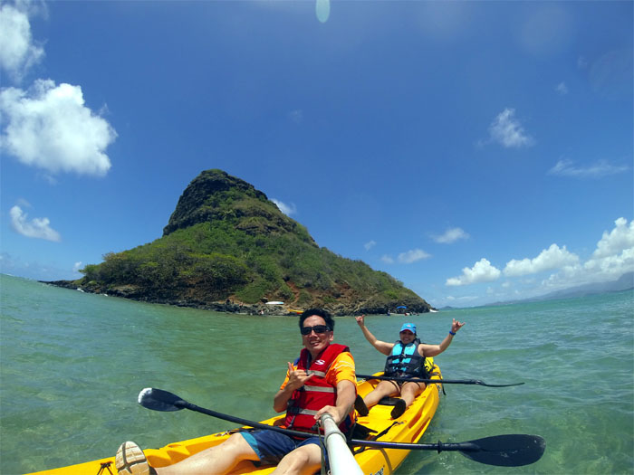 Hiking Mokoli'i Island (Chinaman's Hat)