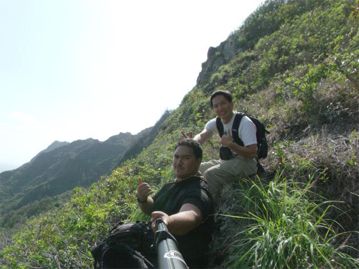 Hiking Mariner's Windward to Mariner's Ridge