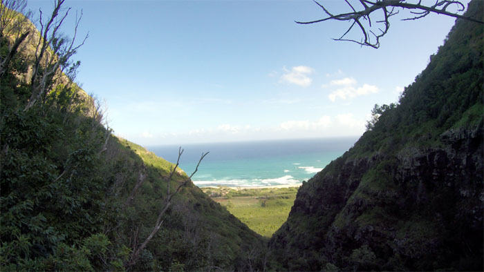 Hiking Nihoa Gulch (Crystal Canyon) to Kaena Point