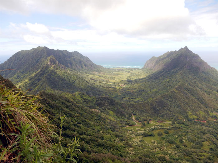 Hiking Pu'u Ohulehule Southeast Ridge