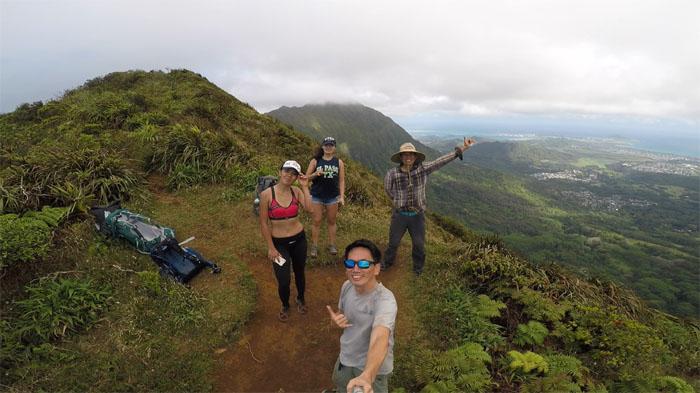 Hiking Olympus to Makapu'u