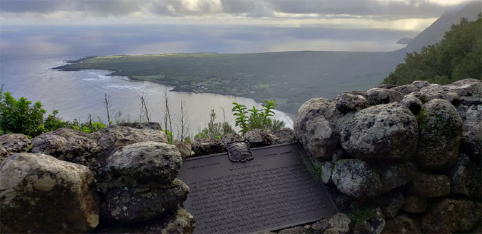 Hiking Kalaupapa Lookout Trail