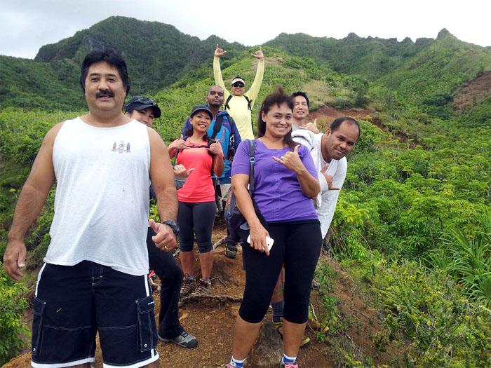 Hiking Pu'u Piei Makai