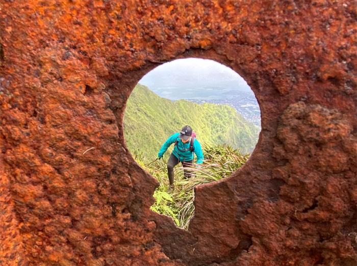 Hiking Aiea Ridge to South Haiku Stairs