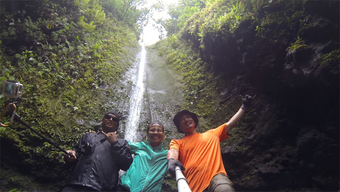 Hiking Valley of the Temples Falls