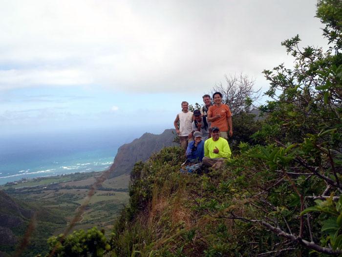 Hiking True Manamana
