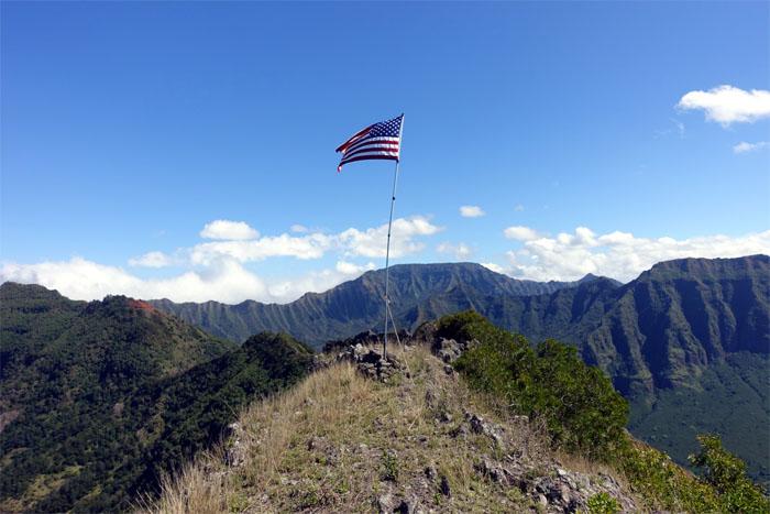Hiking Pu'u Kea'au