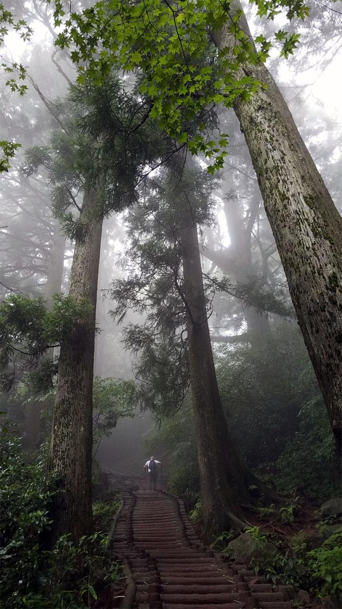 Hiking Mount Tsukuba