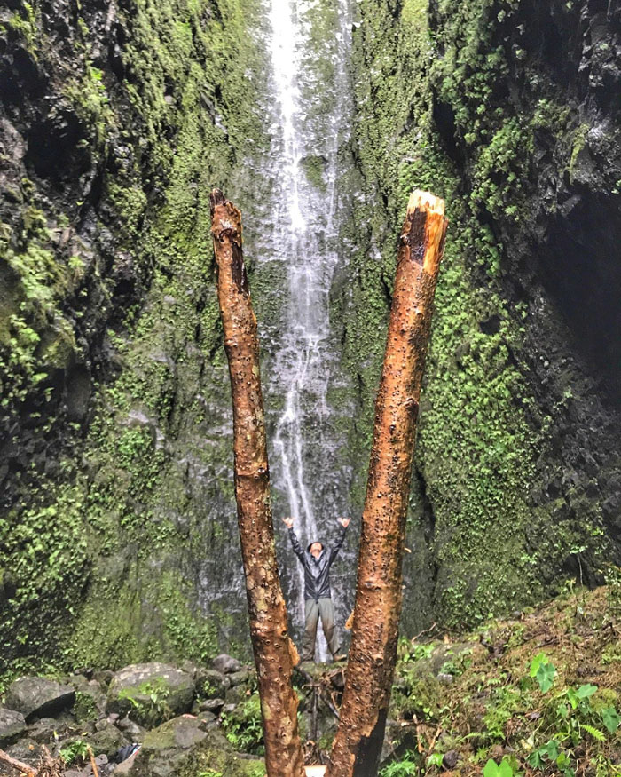 Hiking Likeke Falls and Virgin Mary Falls ( Lanihuli Bigs )