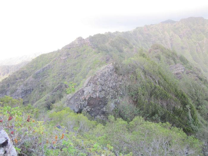 Spine of the Ko'olau Mountain Range