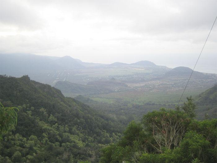 Ka'ala ridgeline