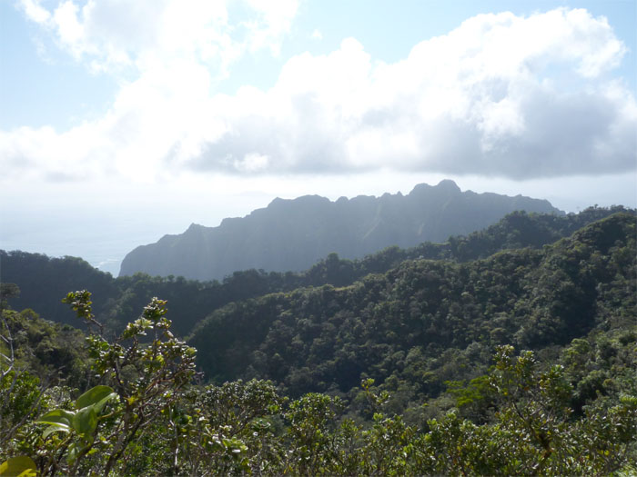 Kualoa Ranch Mountains