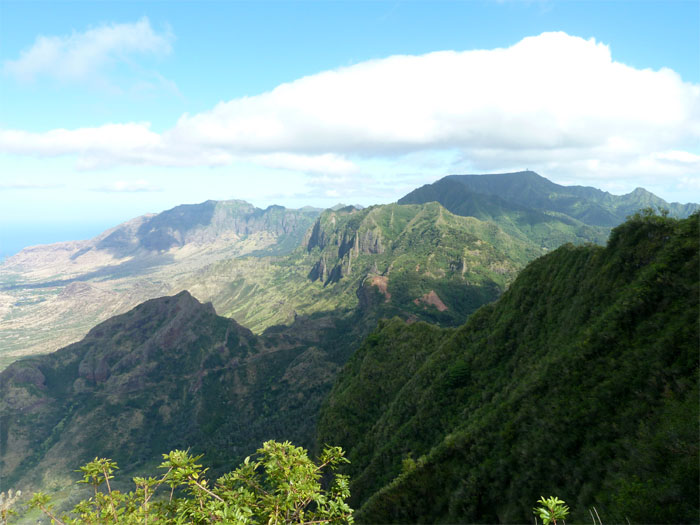 Mount Ka'ala and Pu'u Kalena