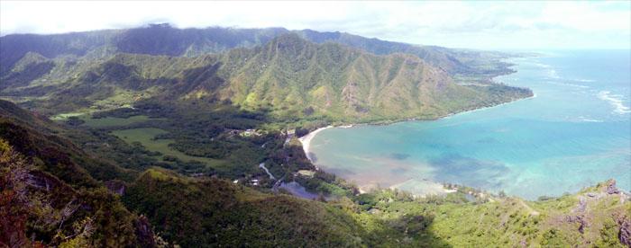 Kahana Valley and Bay