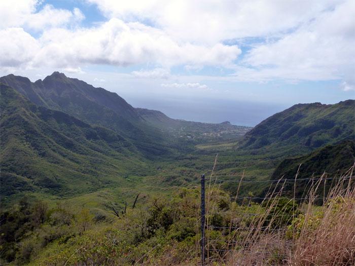 Makaha valley
