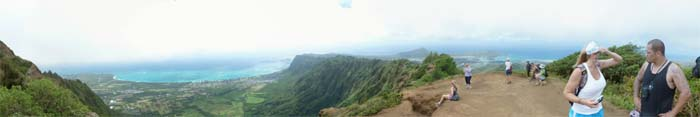 Panoramic view from Kuli'ou'ou