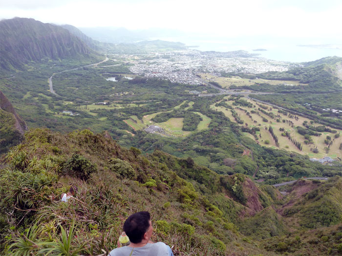 Windward view