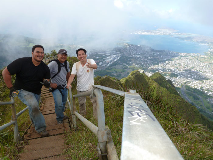 Top of Haiku Stairs