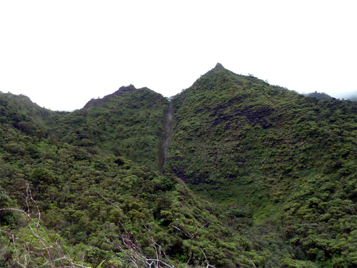 Moanalua Waterfall
