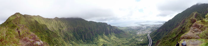 Haiku Valley and Kaneohe