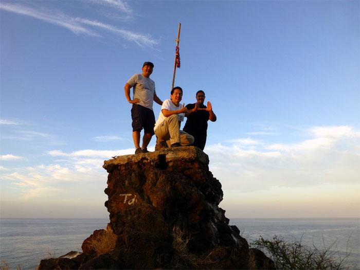 Top of Mauna Lahilahi