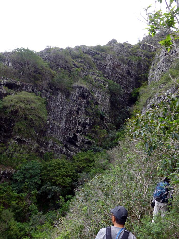 Kaupo Cliffs Chute