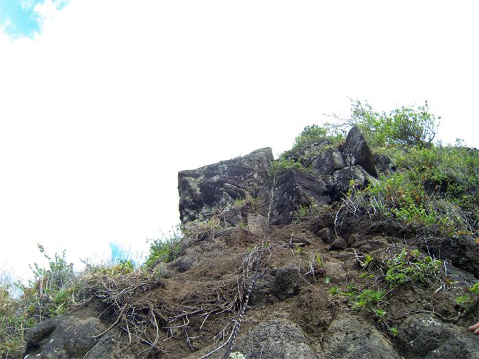 Climbing up Bolohead