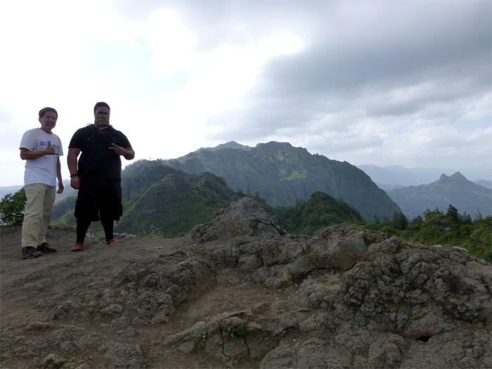 Mariner's Ridge Summit