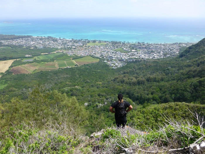 Nice view of Waimanalo