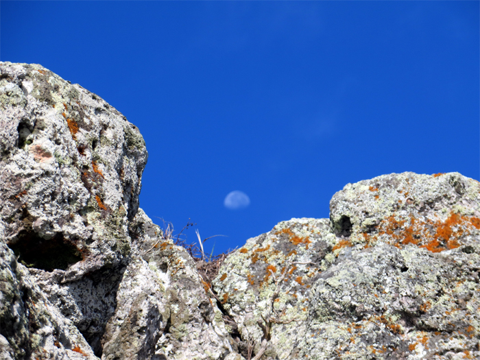 Hiking to the moon