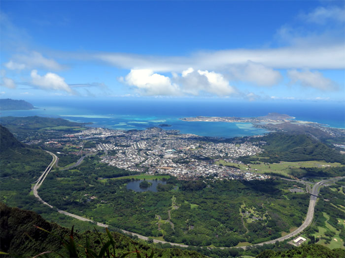 View from the summit of Lanihuli