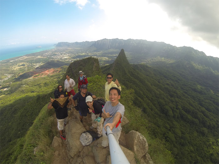 Top of Olomana