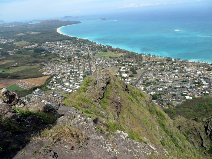 Back down into Waimanalo