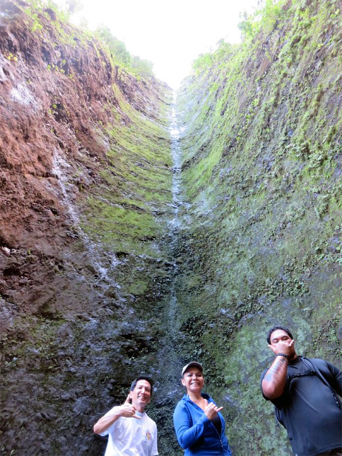 Dry chute