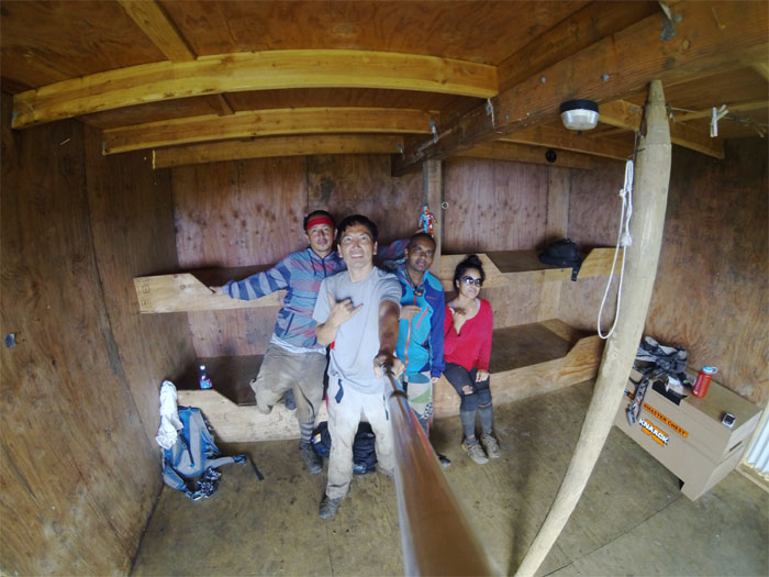 We have four open bunks