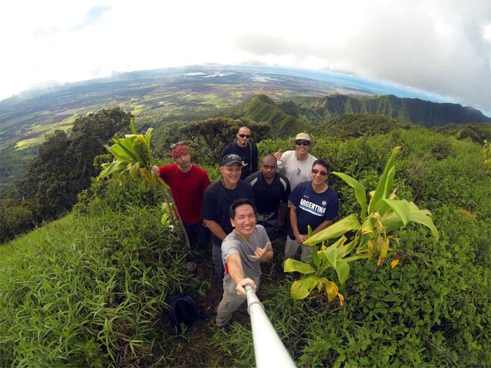 Pu'u Kaua summit