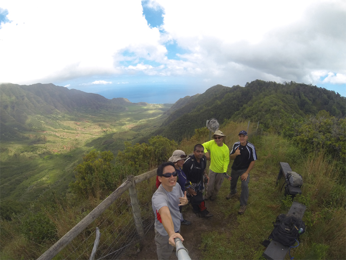 End of Mokuleia Trail