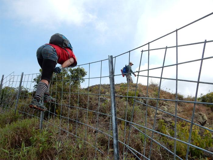 Follow the ridge, not the fence