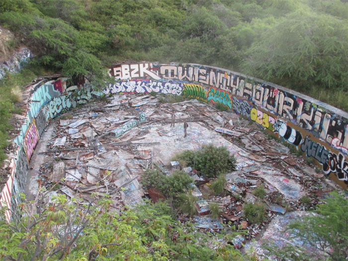 Abandoned reservoir