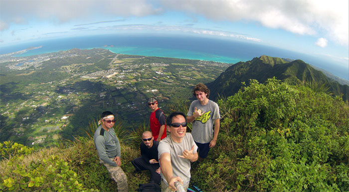 Kulepeamoa summit